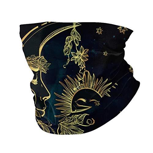 Polainas para el cuello multifunción, color amarillo, bandana, máscara lavable para cubrir el polvo para exteriores, protección UV