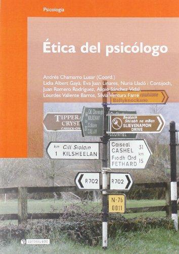 Ética del psicólogo (Manuales) (Spanish Edition)