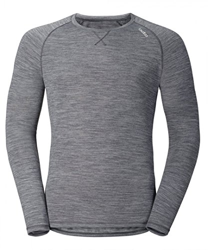 Odlo T- Shirt ML Revolution TW Light Manches Longues Homme, Gris Mélange, FR (Taille Fabricant : XXL)