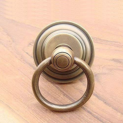 MANJA MTMET-166 真鍮 取っ手 ドアノブ つまみ ハンドル アンティーク レトロ調 ナチュラル