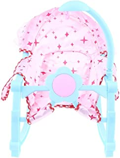 LAJKS Nursery Room Furniture Decor - Abs Doll Bouncer Rockers for 9-12Inch Re Doll for Mellchan Doll Accessories Random Color Thing You Must Have Friendship Gifts Girls Favourite Characters