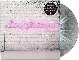 Hard Feelings Exclusive Clear w/ Black Smoke & Blue Splatter Vinyl