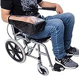 MooKe Las PC 1 Silla de Ruedas eléctrica Joystick Cubierta, Velcro Ajustable a Prueba de Agua de Tela Oxford, Durable para sillas de Ruedas diestro o zurdo