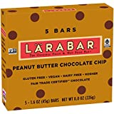 Larabar, Gluten Free Bar, Peanut Butter Chocolate Chip, Vegan, 8 oz