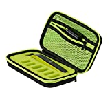 Buwico Hard Carrying Case Travel Case Storage Bag Organizer Shockproof Protective Case for Philips OneBlade Shaver QP2527/2523 and Accessories