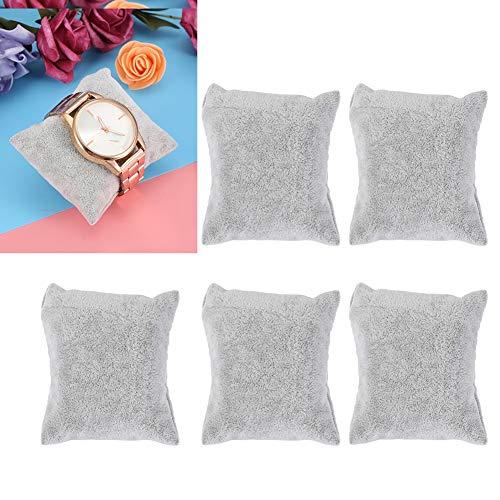 Almohadas de exhibición de joyería de terciopelo, almohadas de reloj, pulseras, pulseras, almohadas/soportes de reloj, vitrinas de...