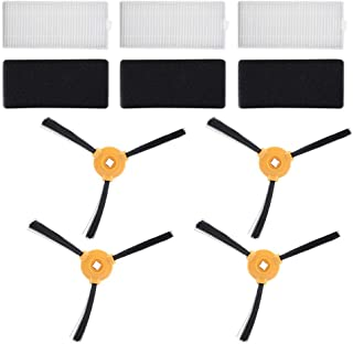 4個サイドブラシ+ 3個PCSフリーター+ 3個フィルターコットン 高性能 真空アクセサリーセット 交換用 N79