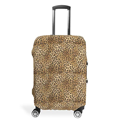 Lind88 Leopard Travel Suitcase Protector - Sexy Durable 4 Sizes fit Protective Suitcase White l(26-28 inch)