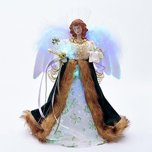 Irish Angel Christmas Tree Topper
