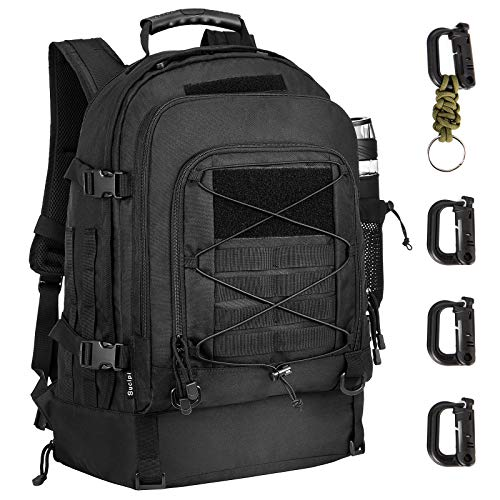 Military Tactical Backpack with Hydration Compartment Waterproof Bug Out Backpack