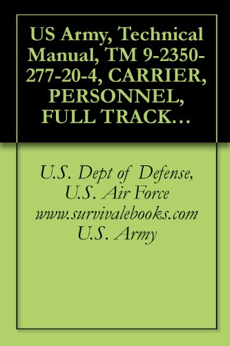 US Army, Technical Manual, TM 9-2350-277-20-4, CARRIER, PERSONNEL, FULL TRACKED, ARMORED M11313, (NSN 2350-01-219-7577, (EIC AEY), CARRIER, COMMAND POST, ... CARRIER, MECHANIZED SMOK (English Edition)