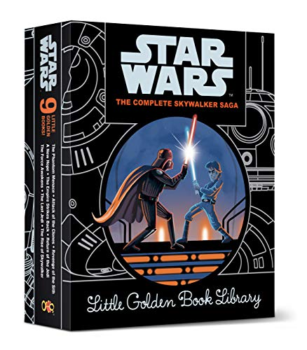 The Complete Skywalker Saga: Little Golden Book Library (Star Wars)