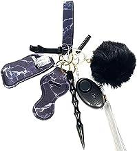 Tixiyu 9 Stks Persoonlijke Alarm Sleutelhanger, Persoonlijke Veiligheid Sleutelhanger voor Vrouwen, Zelfverdediging Beveil...