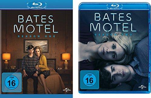 Bates Motel - Season 1 + 2 im Set - Deutsche Originalware [4 Blu-rays]
