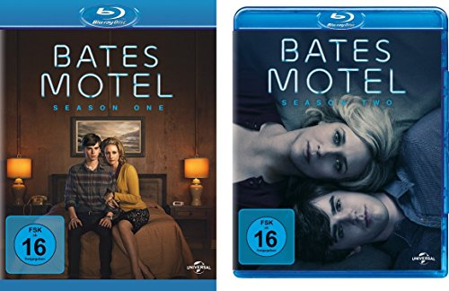 Bates Motel - Season 1 + 2 im Set - Deutsche Originalware [4 Blu-rays]