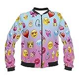 kukubird Summer Range Various Pattern Emoji Styled Bomber Jackets - Emoji Girl