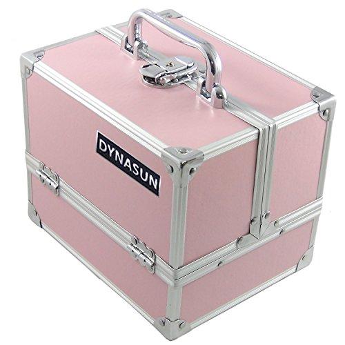 DynaSun Bs35 Beauty Case Make Up Nail Art Porta Gioie, Rosa Pink