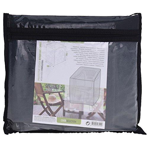 PROGARDEN Housse de Chaise de Jardin rectangulaire 68 x 68 x 105 cm