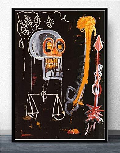 MJKLU lineRobot aspirando Ciudad higiene protección Medio Ambiente Arte Graffiti Espacio Creativo decoración de la habitación de los niños 50X65CM