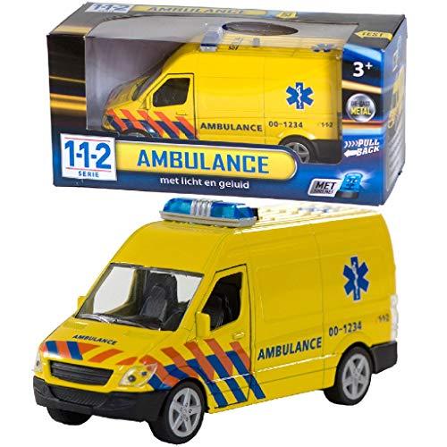 AK Sport 0301065 112 Krankenwagen mit Licht/Sound 1: 43