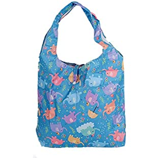 Reusable Grocery Bags,Heavy Duty Foldable Shopping Tote Bag, Eco-Friendly Folding Shopping Bag ,Holds up to 42 lbs