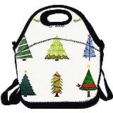Conjunto de árboles de navidad de acuarela Vector portátil llevar bolsa de...