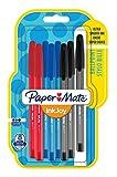 PaperMate InkJoy 100 CAP, bolígrafo con capuchón, punta fina de 0,7mm y colores...