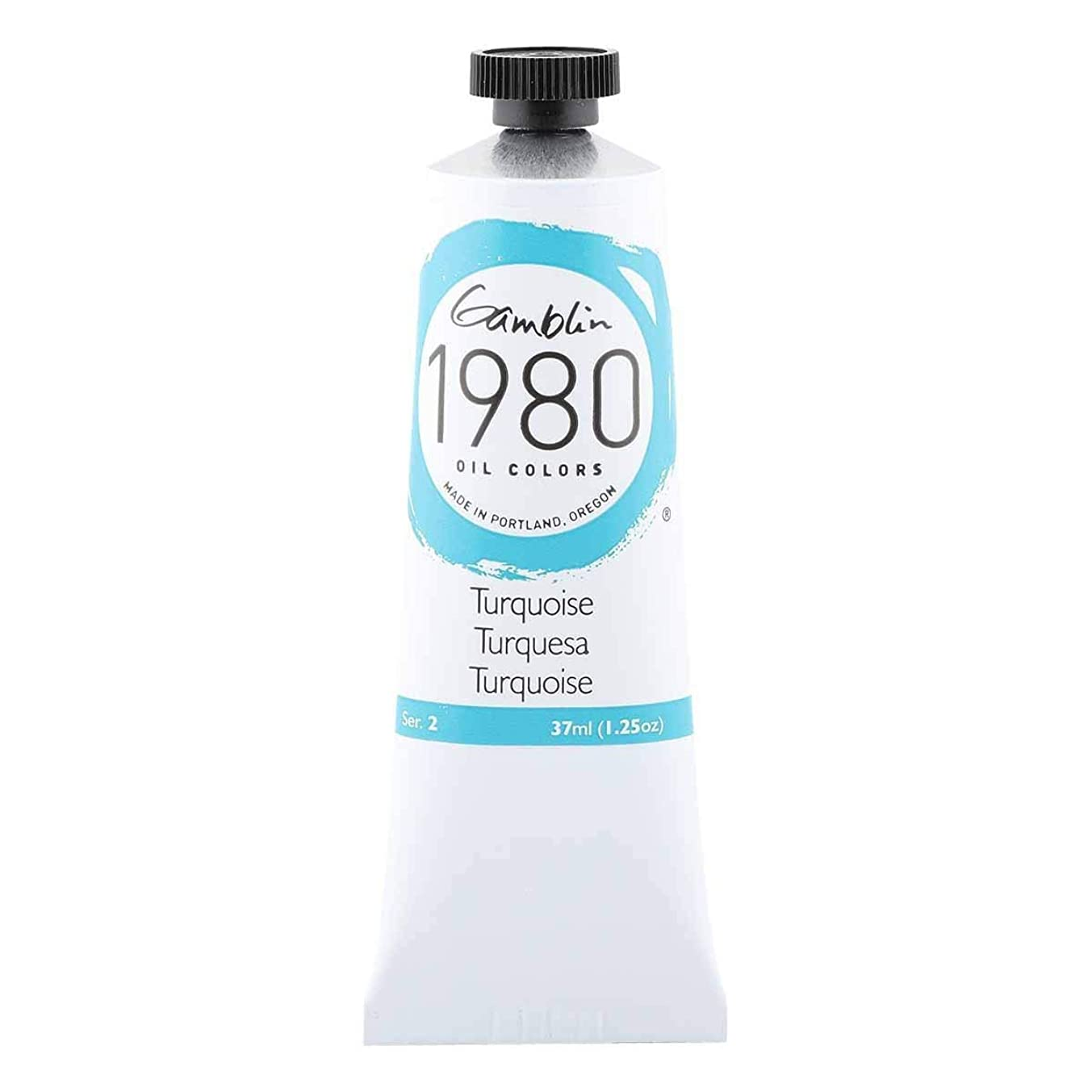 Gamblin 1980 Oil Turquoise 37Ml
