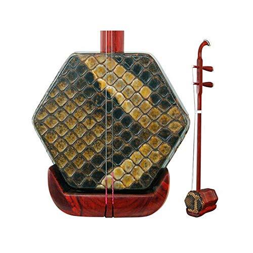 Erhu, Folk Musikinstrument, Palisander Professionell Spielen Erhu, Erwachsene Kinder Anfänger Übungsinstrument (Größe: 83cm) HUERDAIIT (Size : 83cm)