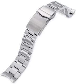 Cinturino orologio con cinturino 20mm Super 3D Oyster acciaio inossidabile 316L cinturino orologio per meccanico Seiko mec...