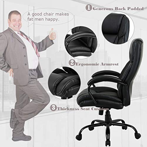 High-Back-Executive-Ergonomic-Adjustable-Computer