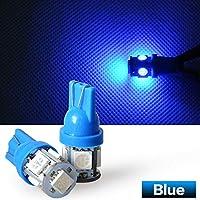 24V LED T10 ウェッジ バルブ 5SMD ブルー 青 Blue 5050 SMD 1個 5連 5 SMD 24V T16 相当5連 超高輝度 24V車用 トラック デコトラ ダンプ バス 大型車用