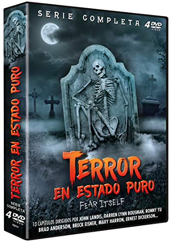 Terror en Estado Puro 2008 Fear Itself (Serie de TV Completa) 4 DVDs