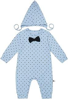 Teeker Baby Jumpsuit Cotton Onesies Baby Romper Long Sleeve Bodysuit Infant Outfit