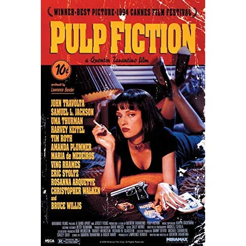 Pyramid International PP30791, Poster Pulp Fiction, 61 x 91,5 x 1,3 cm