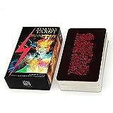 Mrjg Conjuntos de Libros de adivinación del Kit de la Plataforma de 78 Cartas de la Cubierta para Principiantes (Color : Starman Tarot)