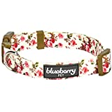 Blueberry Pet 7 Patterns Spring Scent Inspired Pink Rose Print Ivory...