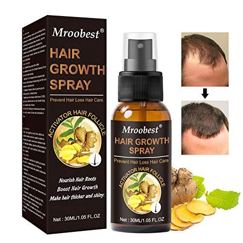 HairGrowthSpray, HaarwuchsSpray, HairGrowthSerum, AntiHaarausfall, für dünner werdendes Haar, Verdickung und Nachwachen, fördert dickeres, Volleres und schneller wachsenden Haar
