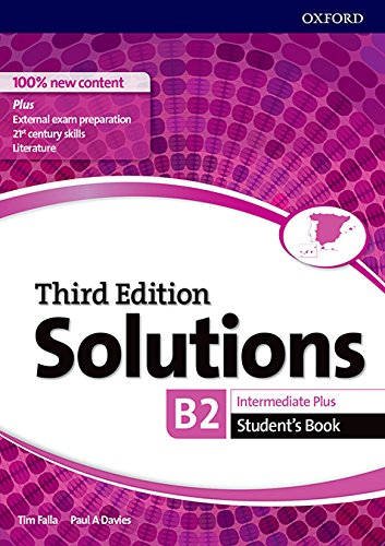 Solutions Intermediate Plus. Student's Book 3rd Edition - 9780194523622 (Solutions Third Edition)