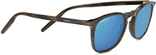 Serengeti Delio Shiny Wood Grain Mineral Polarized 555Nm Blue Delio Shiny Wood Grain Mineral Polarized 555Nm Blue, Brown, ...