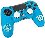 Pack d'accessoires de customisation pour manette PS4 avec coque / housse souple en silicone...