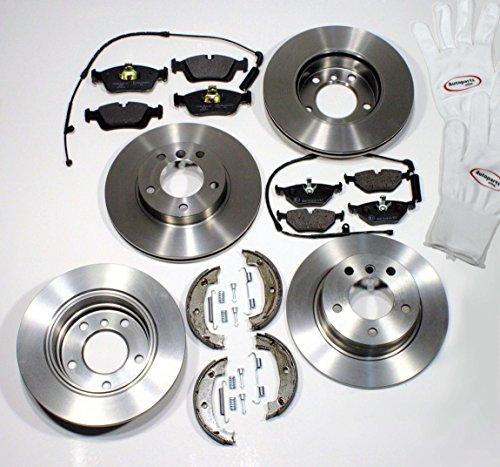 Bremsen/Bremsscheiben Set + Beläge vorne + hinten