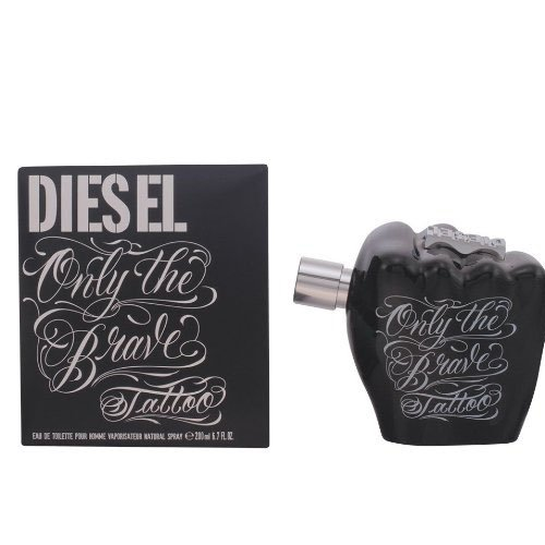 Diesel Only the Brave Tattoo Homme/Men Eau de toilette verstuiver/spray, 200 ml, per stuk verpakt, 1x 200 ml