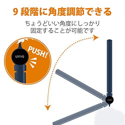 エレコムクリーナーブラシ長さ・角度調整可能収納ケース付ブルーKBR-011BU