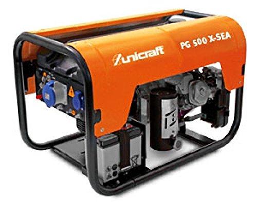 PG 500 X-SEA Profi-Synchron-Stromerzeuger Unicraft Art.-Nr. 6702051
