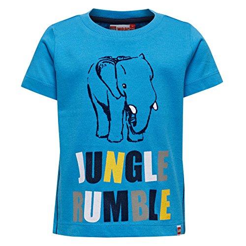 Lego Wear Lego Duplo Tyler 101-T-SHIRT T-Shirt, Bleu (538), 9 Mois Bébé Fille