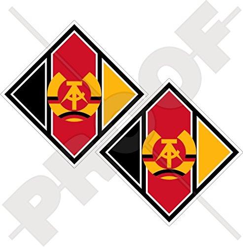 EAST DUITSLAND Luchtmacht LSK Vliegtuigen Roundel Luftstreitkräfte der Nationalen Volksarmee DDR DDR DDR Duits 75mm (3