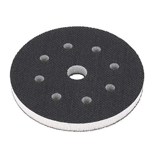 Softauflage 115mm 8-Loch aus Schaum (weich), Interface-Pad soft, Buffer Pad für Schleifteller/Polierteller und Klett-Schleifpapier - DFS