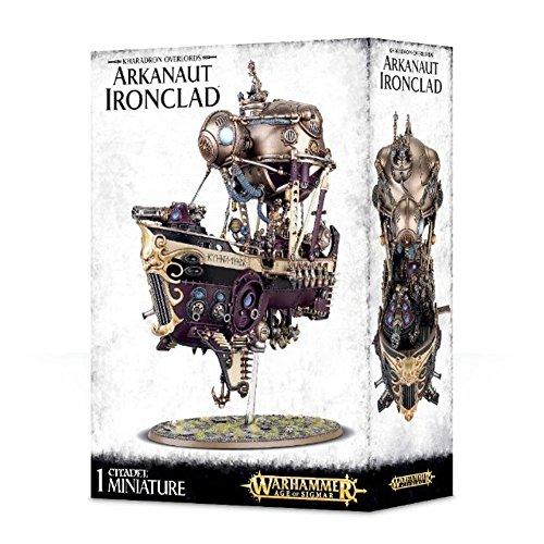 GAMES WORKSHOP 99120205028' Kharadron Overlords Arkanaut Ironclad Plastic Kit
