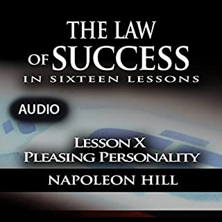 Law of Success - Lesson X - Pleasing Personality cover art